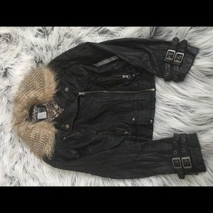 BKE Jackets & Coats - Leather jacket